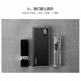 Remax Mini Pro Power Bank Dual USB 10000mAh - RPP-155 - Black - 5