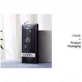 Remax Mini Pro Power Bank Dual USB 10000mAh - RPP-155 - Black - 6