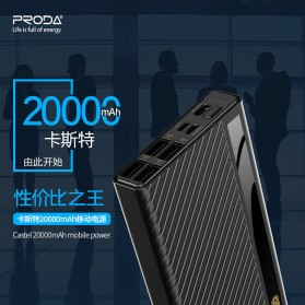Remax Proda Castel Power Bank 4 Port USB Type C 20000mAh - PD-P26 - Black - 3