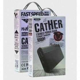 Remax Cather Power Bank USB Type C 2 Port 10000mAh - PD-P23 - Black - 11