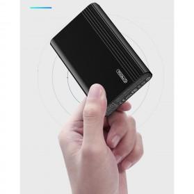 Remax Cather Power Bank USB Type C 2 Port 10000mAh - PD-P23 - Black - 7