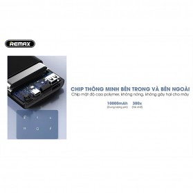 Remax Kinkon Series Power Bank 10000mAh - RPP-135 - Black - 3