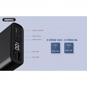 Remax Kinkon Series Power Bank 10000mAh - RPP-135 - Black - 6