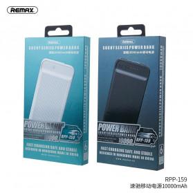 Remax Suchy Series Power Bank 2 Port 10000mAh - RPP-159 - Black - 4