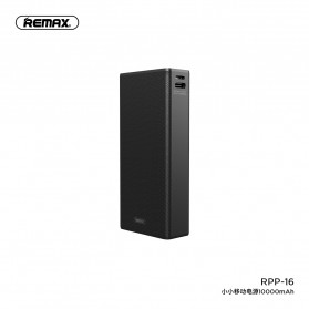 Remax Xiaoxiao Mini Power Bank USB Type C 1 Port 10000mAh - RPP-16 - Black
