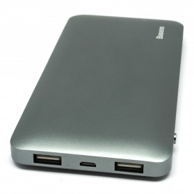Baseus Galaxy Series Power Bank Dual Output 10000mAh - Gray