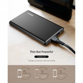 Baseus Gaven Series Power Bank Dual Output 10000mAh - M10 - Black - 7