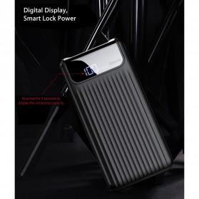Baseus Power Bank 3 Port QC 3.0 USB Type C Input 10000mAh - PPYZ-C01 - Black - 5