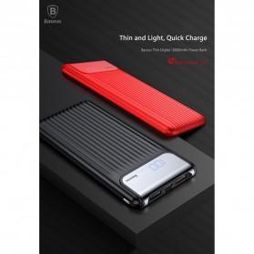 Baseus Power Bank 3 Port QC 3.0 USB Type C Input 10000mAh - PPYZ-C01 - Black - 6