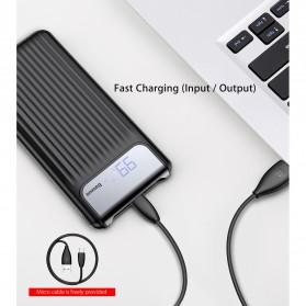 Baseus Power Bank 3 Port QC 3.0 USB Type C Input 10000mAh - PPYZ-C01 - Black - 9