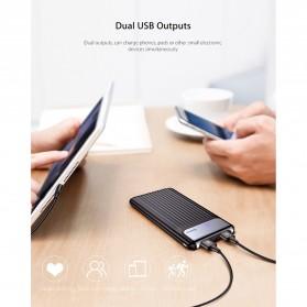 Baseus Power Bank 3 Port QC 3.0 USB Type C Input 10000mAh - PPYZ-C01 - Black - 10