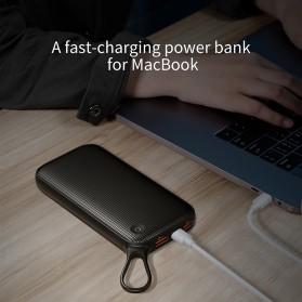 Baseus Power Bank 2 Port QC 3.0 USB Type C PD 20000mAh - PPKC-A01 - Black - 2