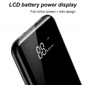 Baseus Qi Wireless Charging 2 Port 2A Power Bank 8000mAh - Q2 - Black - 3