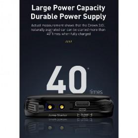 Baseus Power Starter Super Energy Car Jump Starter 8000mAh 800A 12V - CRJS01-01 - Black - 7