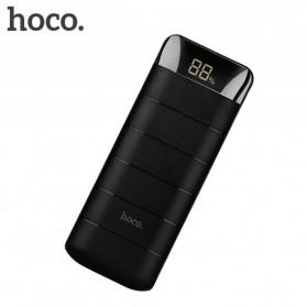 HOCO B29A Domon Power Bank 2 Port 15000mAh dengan Senter - Black - 3