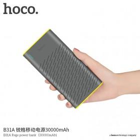 HOCO B31A Rege Power Bank 2 Port 30000mAh - Gray - 5