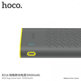 HOCO B31 Rege Power Bank 2 Port 20000mAh - Gray - 6