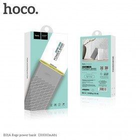HOCO B31 Rege Power Bank 2 Port 20000mAh - Gray - 7