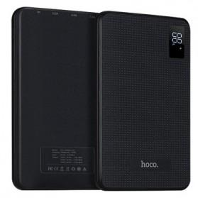 HOCO B24 Power Bank 3 Port 30000mAh - Black