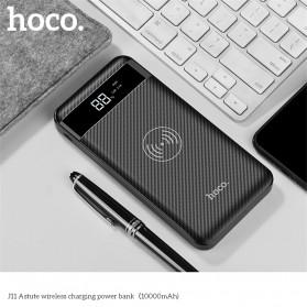 HOCO Power Bank Wireless Charging 10000mAh - J11 - Black - 3