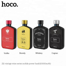 HOCO Vintage Wine Bottle Power Bank 10000mAh - J21 - Black - 3