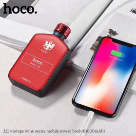 HOCO Vintage Wine Bottle Power Bank 10000mAh - J21 - Black - 7