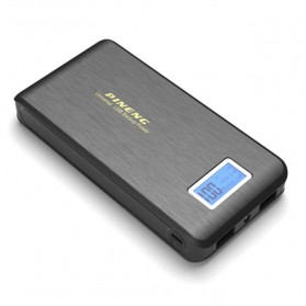 Pineng Power Bank 2 Port 15000mAh with LED Light - PN-929 - Black - 1