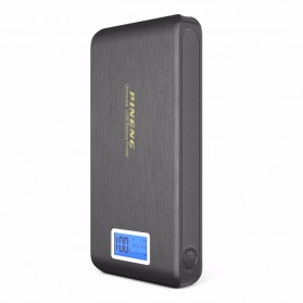 Pineng Power Bank 2 Port 15000mAh with LED Light - PN-929 - Black - 2