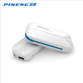 Pineng Power Bank Built-in Micro USB Cable 5000mAh - PN-915 - White