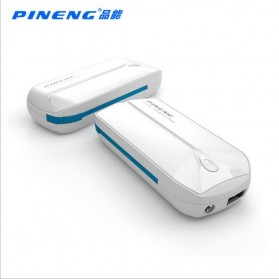 Pineng Power Bank Built-in Micro USB Cable 5000mAh - PN-915 - White - 2