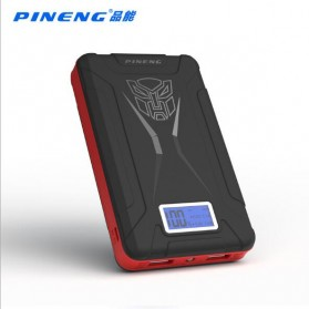 Pineng Transformer Power Bank 2 Port 10000mAh - PN-933 - Black