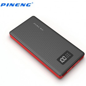PINENG Power Bank 2 Port 10000mAh - PN-963 - Black