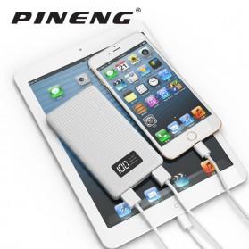Pineng Power Bank 2 Port 6000mAh - PN-960 - Black - 7