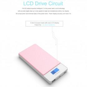Pineng Power Bank USB Type C 2 Port QC 3.0 10000mAh - PN-993 - White - 8