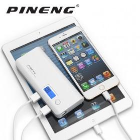 Pineng Power Bank 2 Port 10000mAh with Flashlight - PN-968 - Black - 6