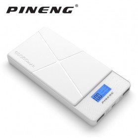 Pineng Power Bank 2 Port 10000mAh - PN-983 - White