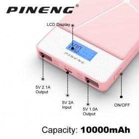 Pineng Power Bank 2 Port 10000mAh - PN-983 - White - 2