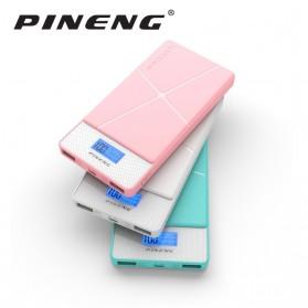 Pineng Power Bank 2 Port 10000mAh - PN-983 - White - 6