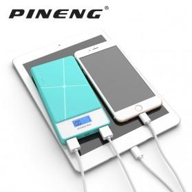Pineng Power Bank 2 Port 10000mAh - PN-983 - White - 7