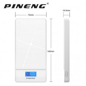 Pineng Power Bank 2 Port 10000mAh - PN-983 - White - 9