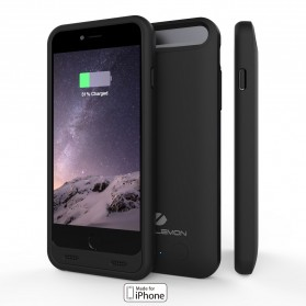 ZeroLemon Slim Juicer iPhone 6/6s Battery Charging Case 3100mAh - Y610 - Black