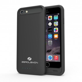 ZeroLemon Slim Juicer iPhone 6 Plus Battery Charging Case 4000mAh - Y803 - Black