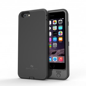 ZeroLemon Zero Shock iPhone 6 Plus Battery Charging Case 6100mAh with Belt Clip Holster - Y688 - Black
