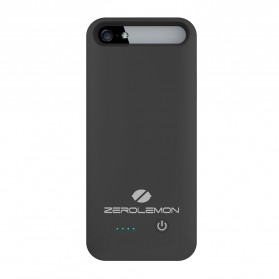 ZeroLemon Slim Juicer iPhone 5/5s Battery Charging Case 2400mAh - Y356 - Black