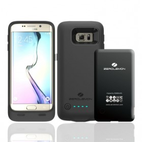 ZeroLemon Slim Power Samsung Galaxy S6 Edge Battery Charging Case 3500mAh - Y830 - Black
