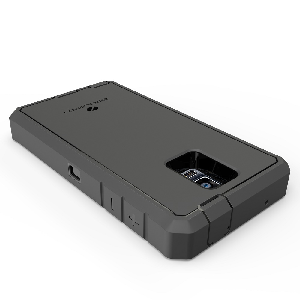 zerolemon zero shock samsung galaxy note 4 battery charging case 10000mah with nfc belt clip. Black Bedroom Furniture Sets. Home Design Ideas