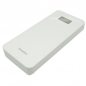 Sinofer Power Bank Ultra Thin Polymer 10000mAh - White