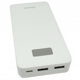 Sinofer Power Bank Ultra Thin Polymer 10000mAh - White - 3