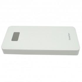 Sinofer Power Bank Ultra Thin Polymer 10000mAh - White - 4