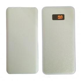 Sinofer Power Bank Ultra Thin Polymer 10000mAh - White - 6